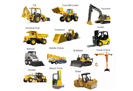 Construction Equipments & Spare Parts
