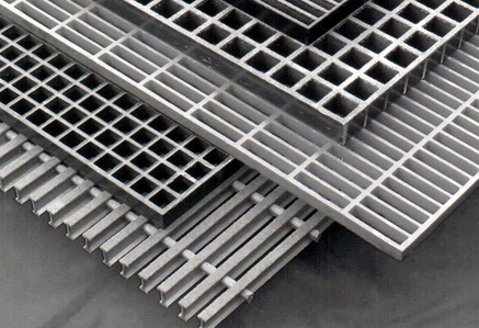 GI/MS/Aluminium & FRP Gratings